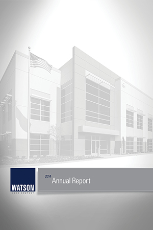 Watson Annual Report
