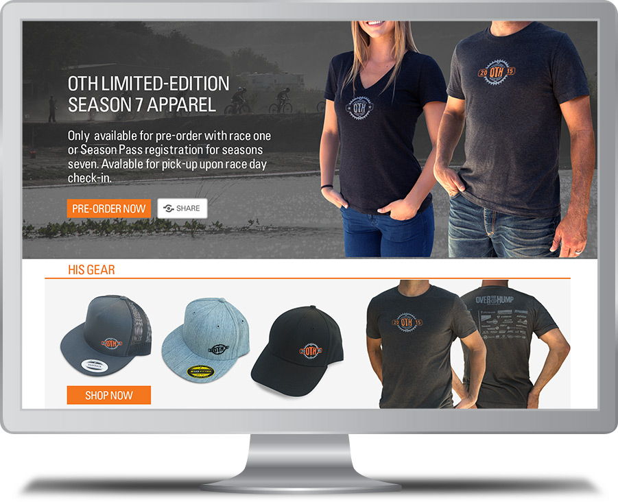 OTH Store Website