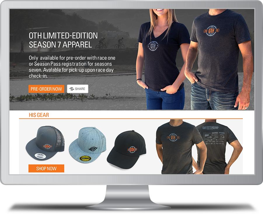 OTH Store Website