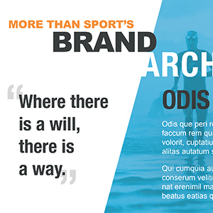 More Than Sport Brand Architecture