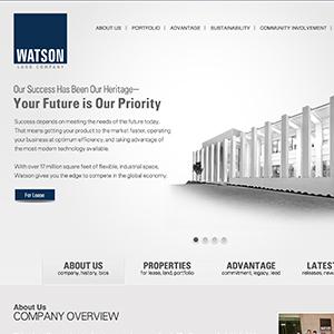 Watson Land Company Corporate Website