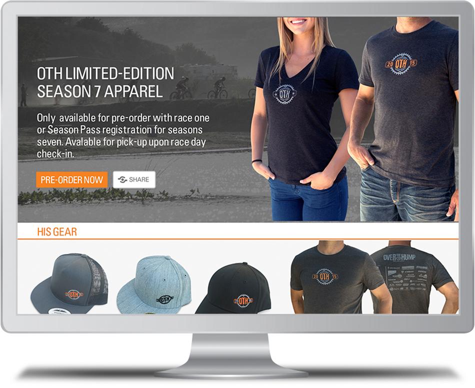OTH Apparel Web Store