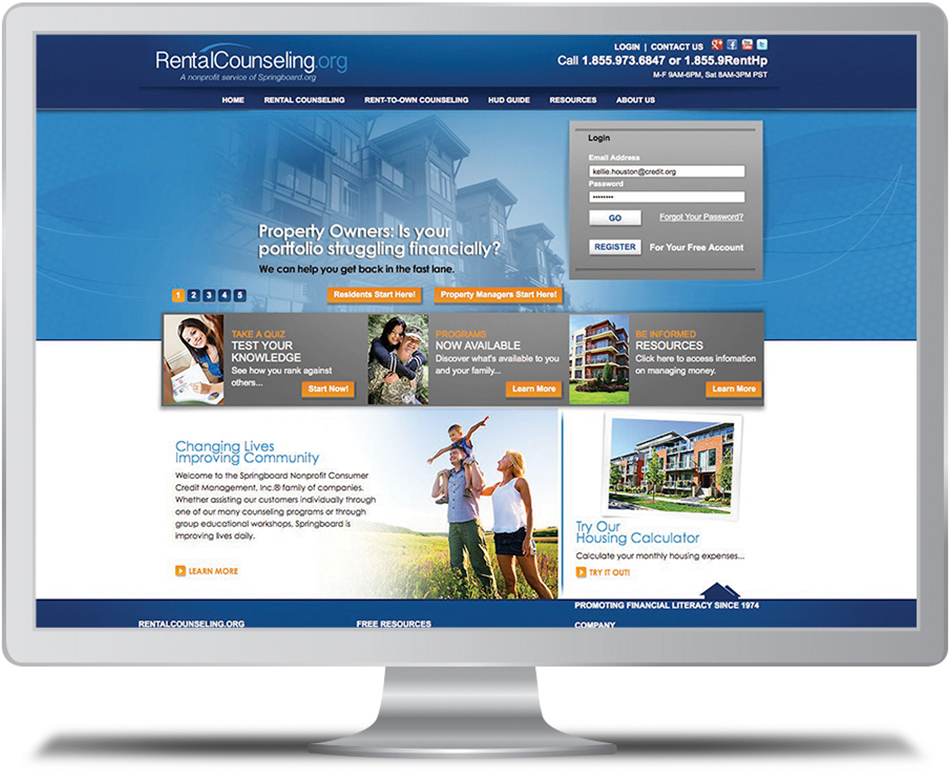 Rental Counseling Website