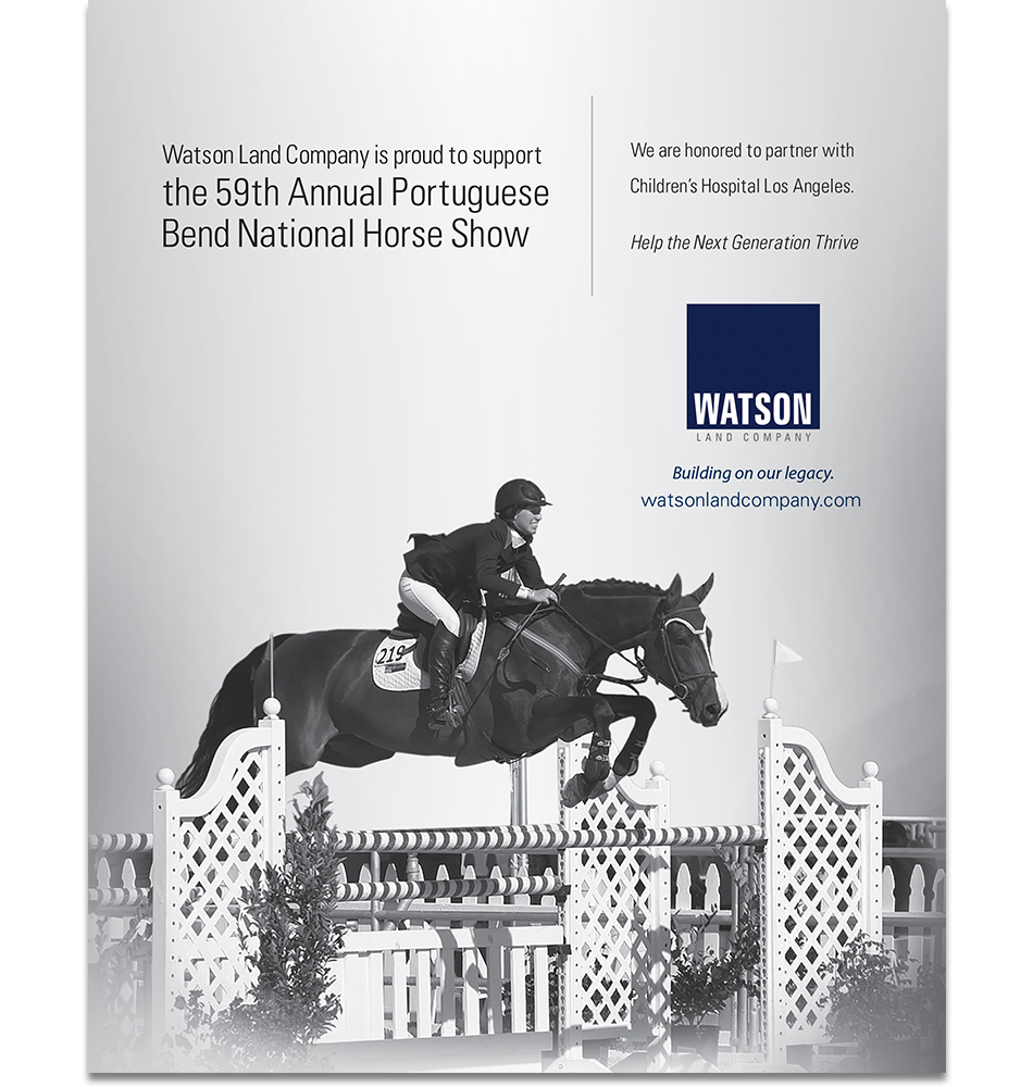 Watson Horse Show Ad